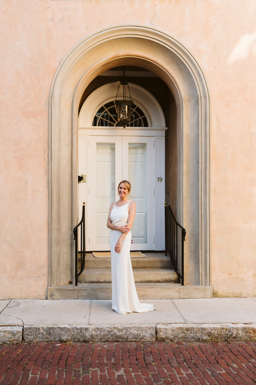 bridal portraits, downtown Charleston