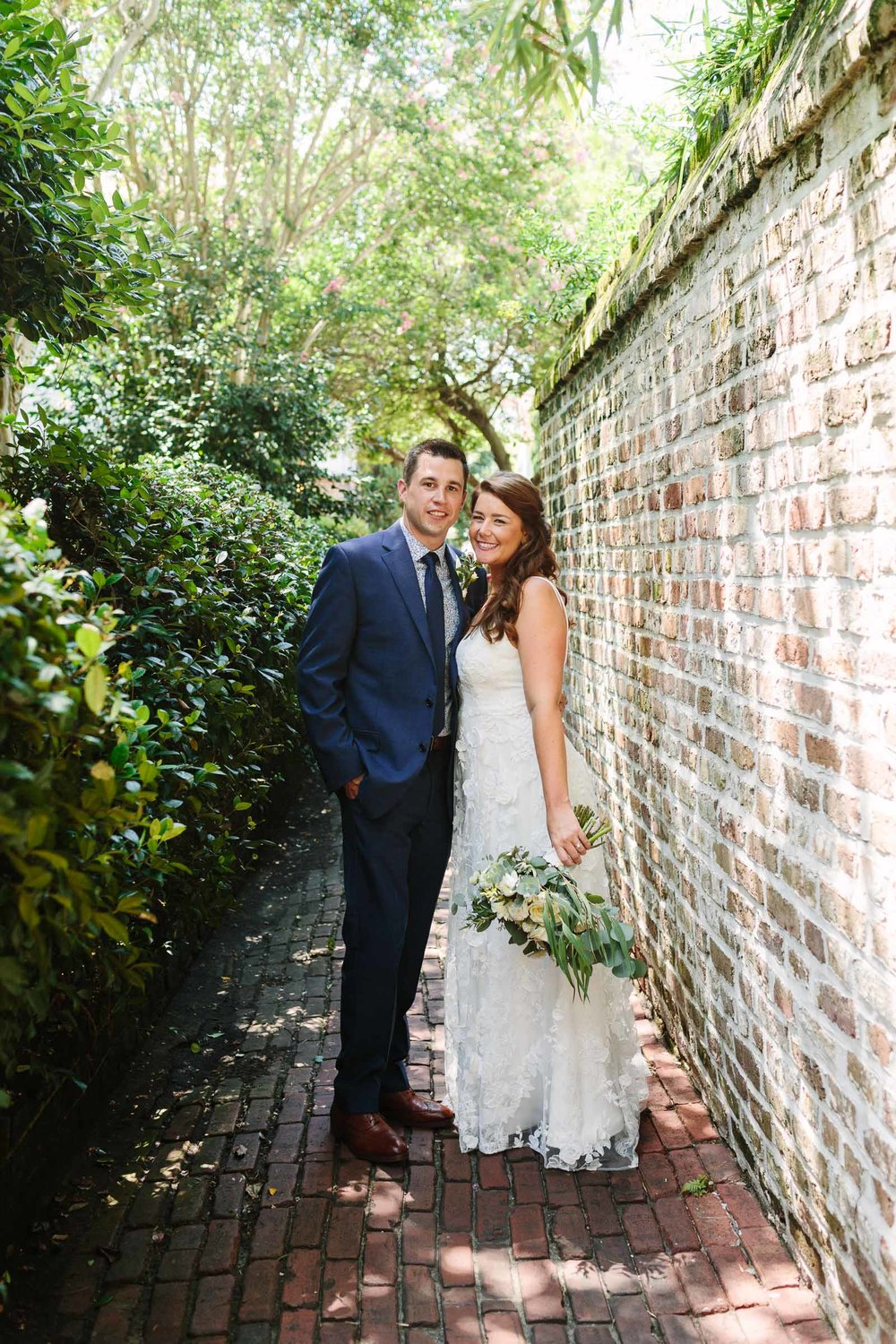 Shelby and Craig, downtown Charleston elopement