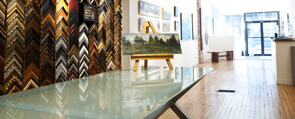 dimensions custom framing & gallery - 732 Queen Street East - Toronto - 416 463 7263
