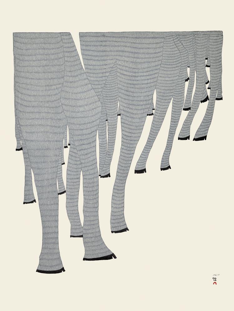 Ningiukulu Teevee, Caribou Legs