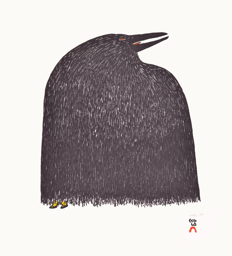 Ningiukulu Teevee, Raven's Boots