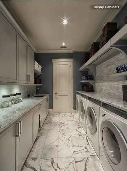 Long Narrow Laundry Room