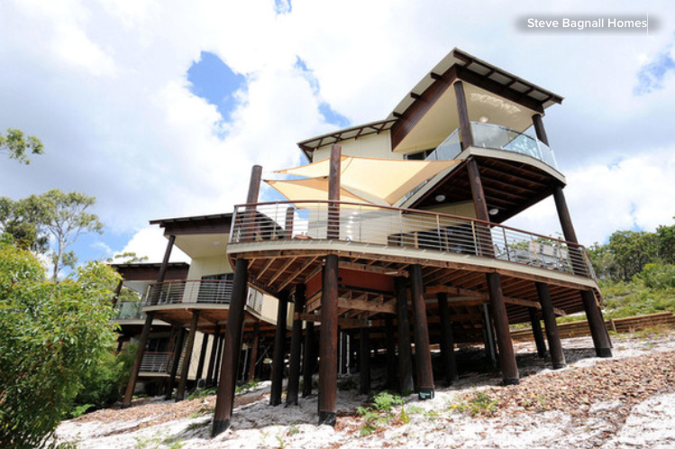 Stilt houses 10 reasons to get your house off the ground for Building a house on pilings