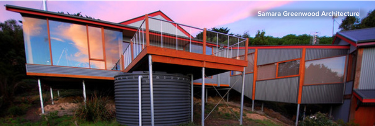 Captivating To Build On A Steep Coastal Site. This Two Bedroom Vacation House Sits On A  Steep Coastal Site Overlooking The Scenic Great Ocean Road In Victoria, ...