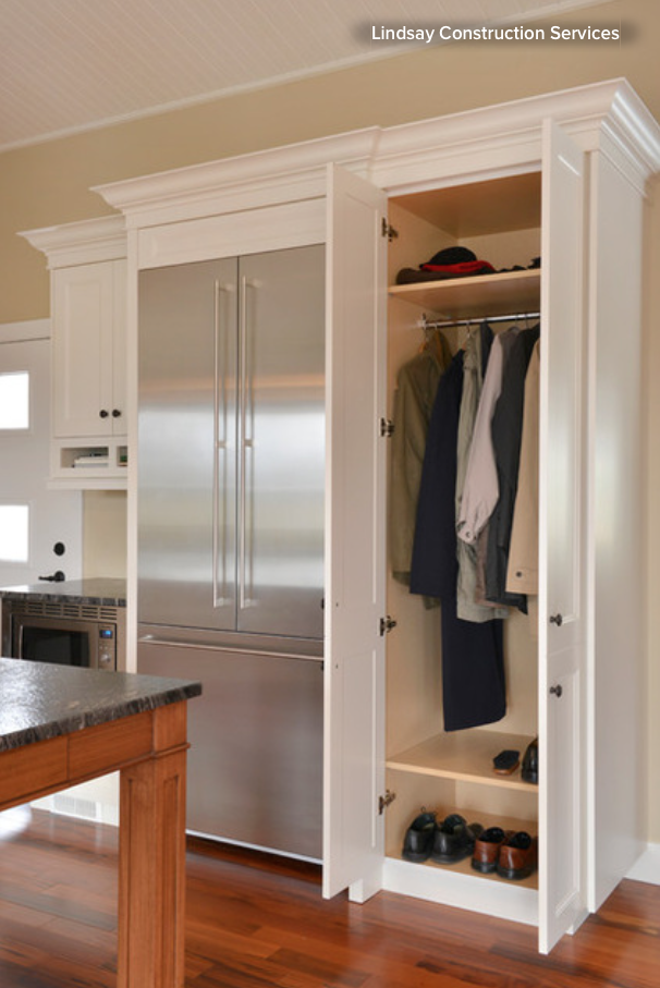 How to Tap Your Hall Closet's Storage Potential — BERGDAHL ...