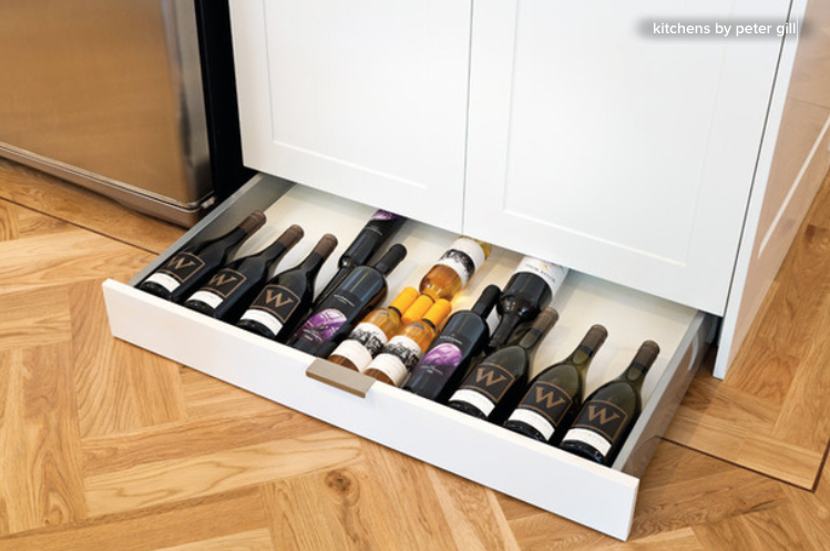 Who Thought Of Toe Kick Drawers? Give That Person A Medal. Depending On  Your Cabinetry Construction, Drawers Can Be Retrofitted In This Forgotten  Space.