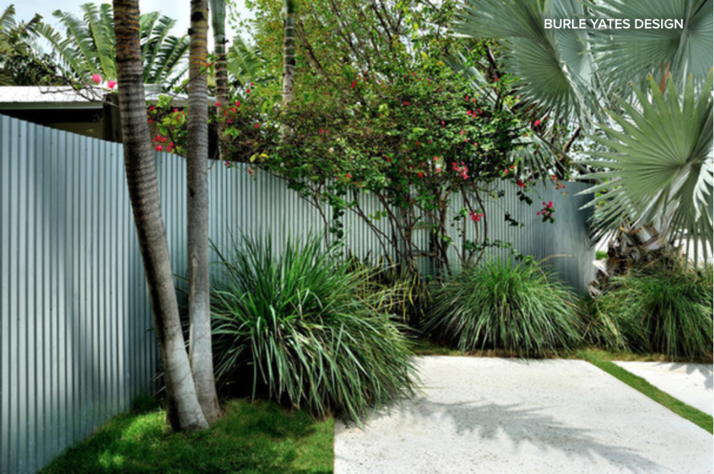 Humble Corrugated Metal Brings Modern Style To The Garden