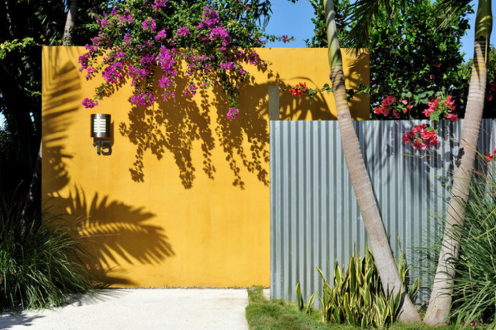 homes with corrugated metal walls humble corrugated metal brings modern style to the garden