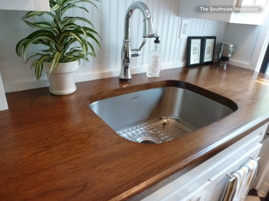 Wood Countertops And Beadboard Painted White Are A Classic Traditional  Pairing. Itu0027s An Apt Choice For A Cottage Kitchen Look. Here The Owners  Opted For ...