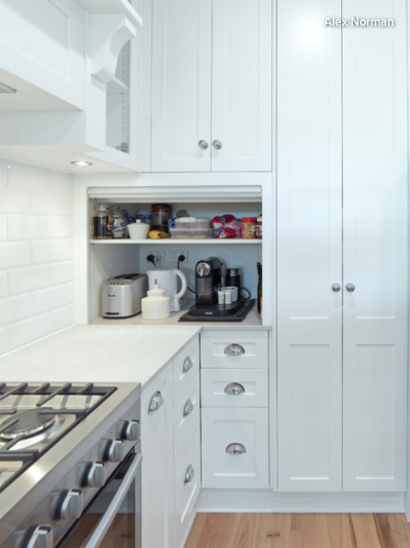 One Of The Most Practical Storage Places For The Most Regularly Used Small  Appliances In Your Kitchen, Such As Your Kettle And Coffee Machine, Is A  Cabinet ...
