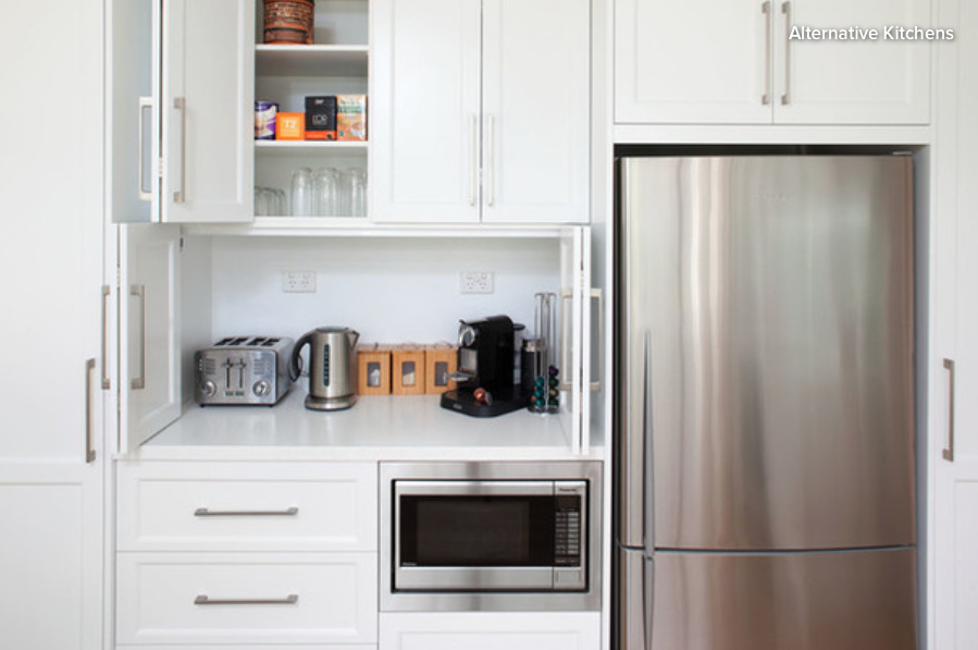 Kitchen Ideas: 11 Neat Ways to Store Your Small Appliances ...