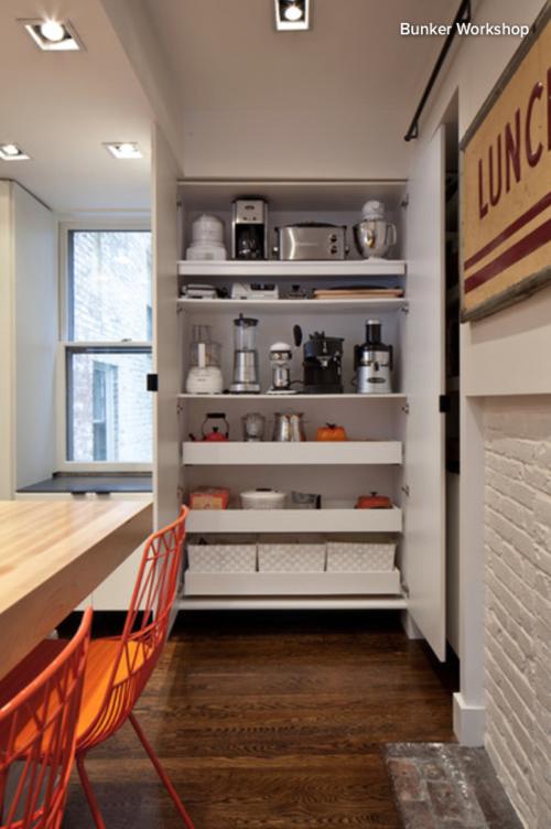 Kitchen Ideas: 11 Neat Ways to Store Your Small Appliances ...