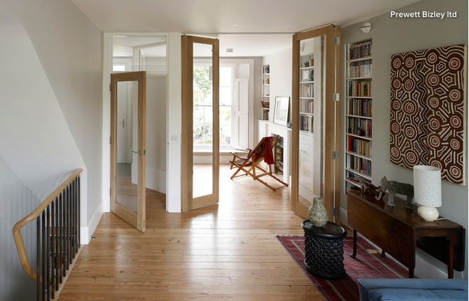 If You Want To Keep The Divisions Between Connecting Rooms But Still Max Out On Light Give Your Living Room A Lift By Swapping Solid Doors For Glass