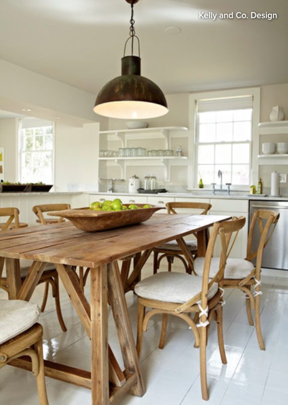 Goodbye island hello kitchen table bergdahl real property a big table allows the kitchen to function as a dining area in a way most smaller eating nooks cant this is a definite plus if the home has no formal watchthetrailerfo