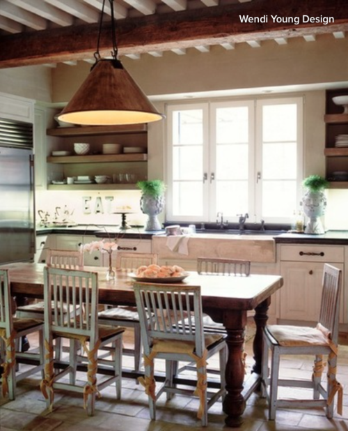 Kitchen Island Instead Of Table Goodbye island hello kitchen table bergdahl real property when chairs surround the table as opposed to the typical island where stools are along one side and occasionally an end everyone can sit facing one workwithnaturefo
