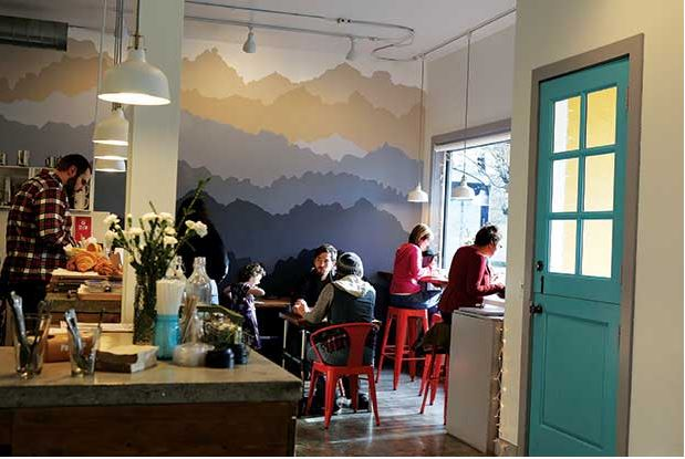 """Sod House Bakery is one of several new businesses infusing new life into the increasingly upscale Ravenna neighborhood. The baked goods, such as the bakery's house-made """"Pop Tarts,"""" are a hit with the locals"""