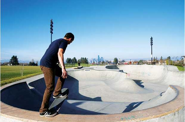 Beacon Hill's Jefferson Park is a neighborhood gem; home of the nation's largest neighborhood urban community farming project and the Jefferson Skate Park