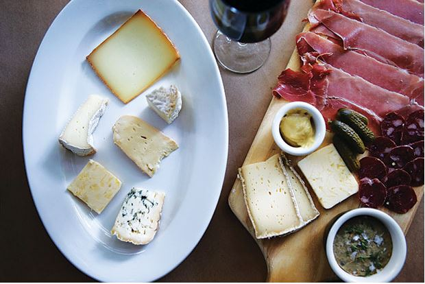 Swoon-worthy charcuterie and fromage from Le Caviste downtown