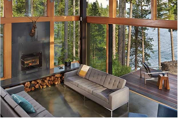 the look a lake cle elum retreat designed by seattle based johnston architects - Seattle Home Decor