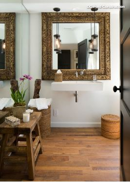 10 Statement Making Mirror Styles For The Bath Bergdahl Real Property