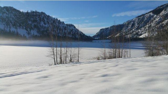 Alta Lake in winter. Photo by trip reporter selma&oasisinwenatchee.