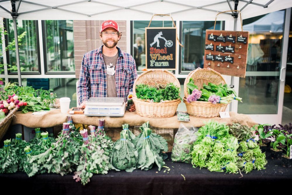 Little Brother farmers market. Photo by Ryan Flynn.