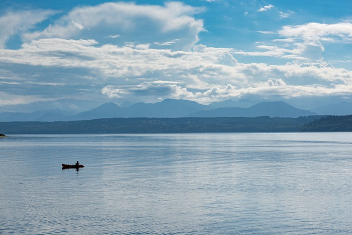 Head to the gorgeous Hood Canal for the Brinnon Shrimpfest. WILLIAM C BUNCE/SHUTTERSTOCK