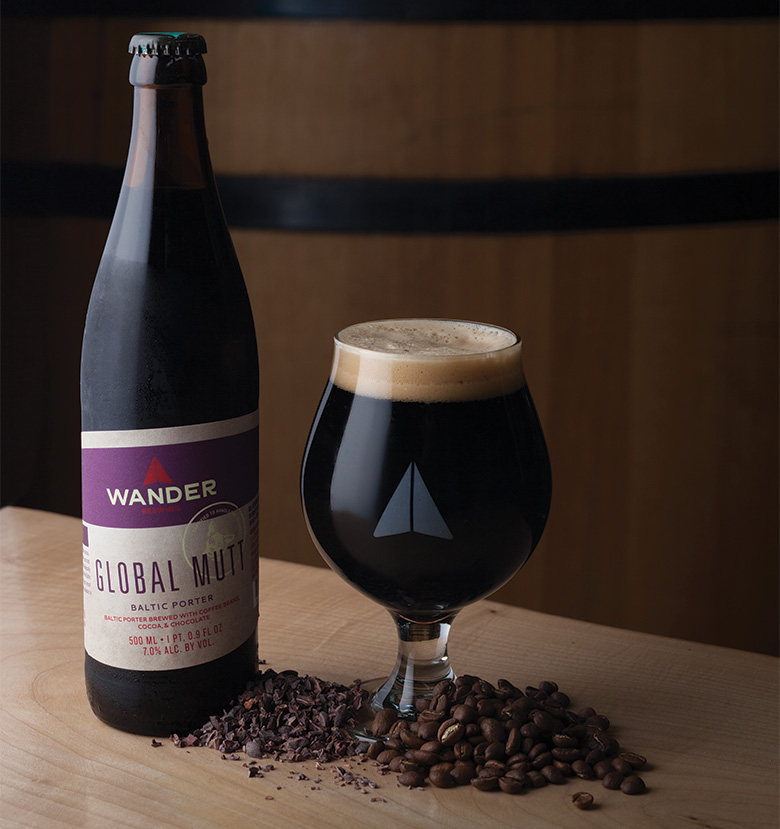 Photograph by Angela Ciccu. Best Porter: Global Mutt Baltic Porter from Bellingham's Wander Brewing