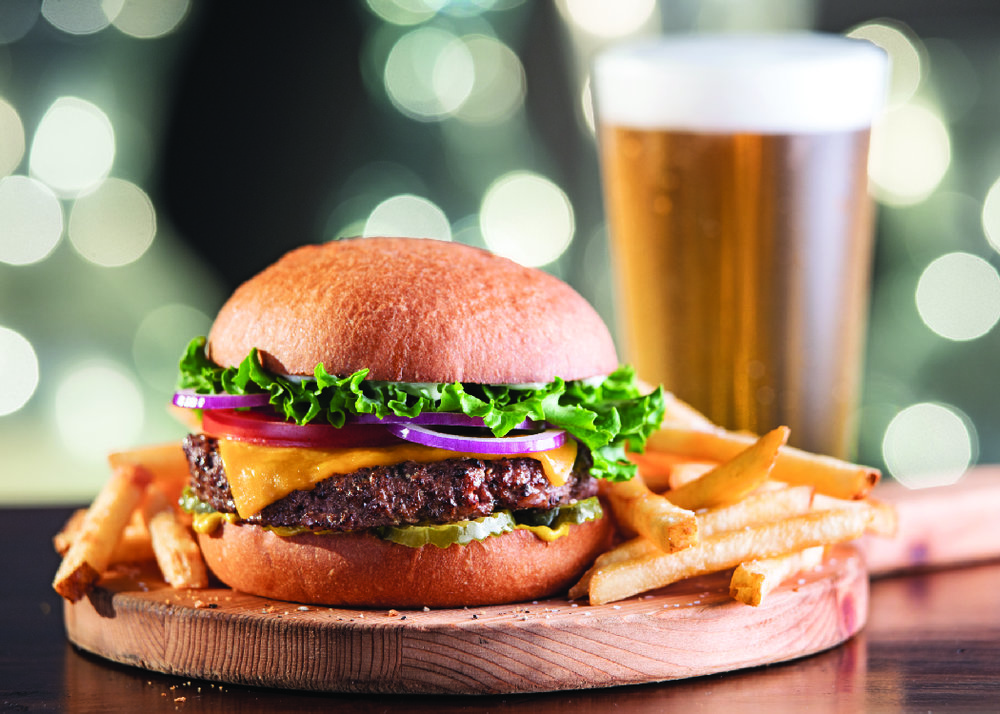 Image Credit:Provided by Cinemark Theatres Inhale this burger while watching Ben Stiller's next terrible rom-com.