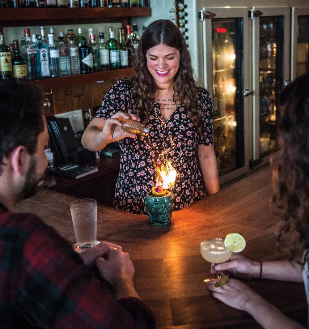 Sun Liquor landed on Seattle Met's round up Best Bars on Capitol Hill. IMAGE:SARAH FLOTARD