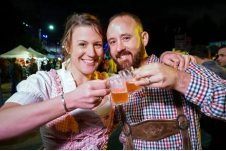 eattleites celebrated with a cold one (or two or three) at last year's Fremont Oktoberfest. IMAGE:BOLD HAT PRODUCTIONS