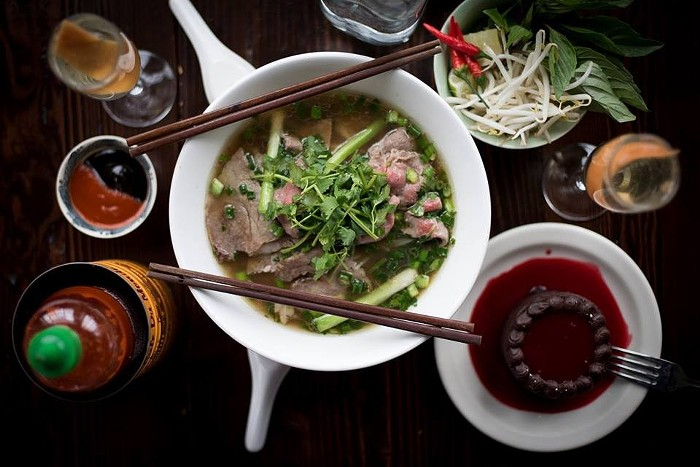 Valentine's Day doesn't have to be about expensive steak dinners— Ba Bar will offer a giant bowl of pho for two, complete with happiness dumplings, prosecco, and chocolate cake, all for a cool $48 per couple.BA BAR CAPITOL HILL