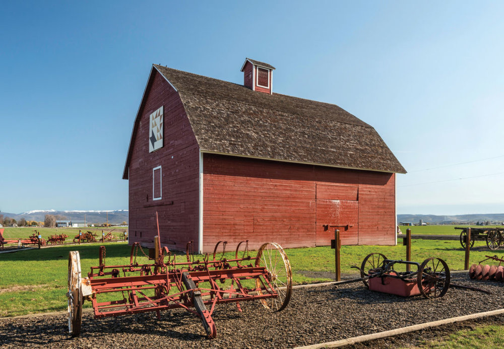 Rangers give tours of the 1875 Olmstead homestead on summer weekends.  IMAGE: WITOLD SKRYPCZAK / ALAMY STOCK PHOTO