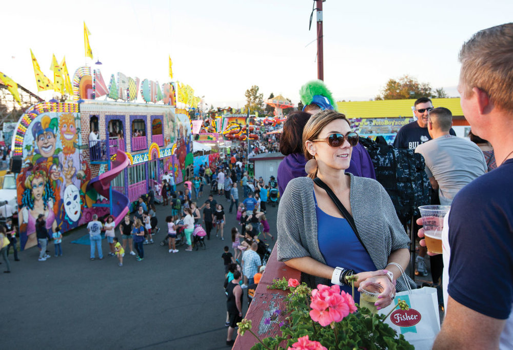 There's plenty of elbow room at the spring fair, which draws smaller crowds than fall's Washington State Fair.  IMAGE: COURTESY PATRICK HAGERTY