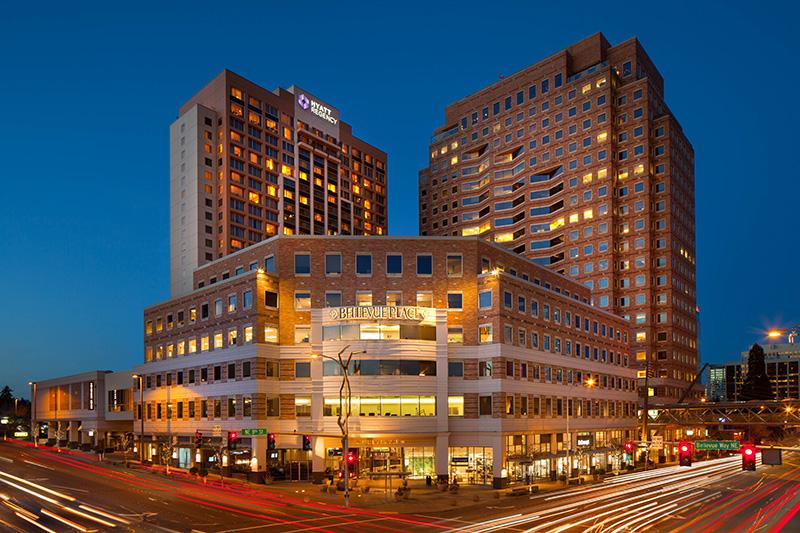 Hyatt Bellevue. Photo by Marck Silverstein