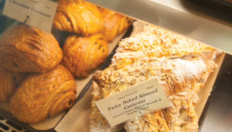 Baked Goods: A twice-baked almond croissant from Bakery Nouveau is an essential Seattle treat. Photo by Alex Crook