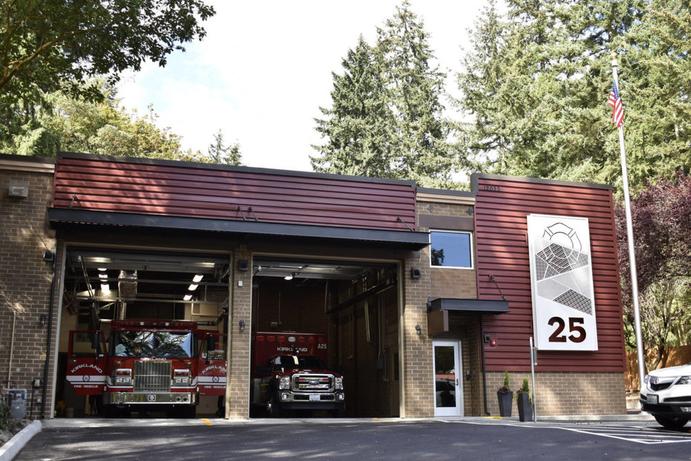 Kirkland's Fire Station 25 in the Finn Hill Neighborhood is the city's oldest fire station and was recently renovated for the first time in 43 years. Samantha Kelly, Kirkland Volunteer Photographer