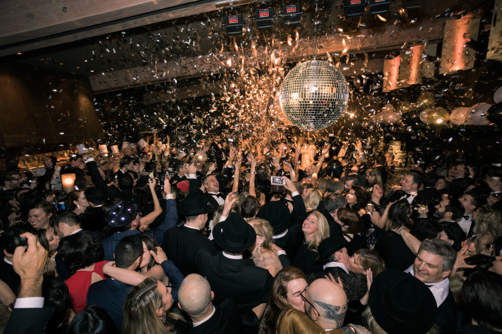 Last year's NYE party at Canlis included tromping through three floors of dining, dancing, and discovery.  IMAGE:  CANLIS