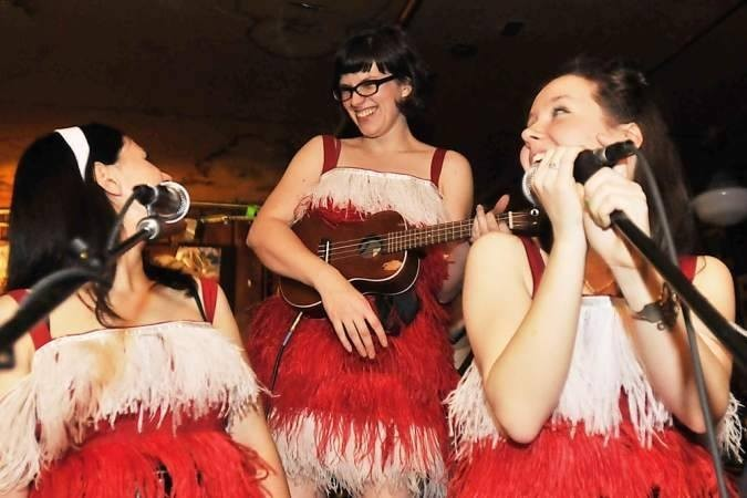 Celebrate Christmas Eve and support the Leukemia & Lymphoma Society with a ragtag bunch of local folk-rockers like Spank Williams & Friends (pictured) at the    15th Annual Blue Moon Christmas Pageant   . COURTESY OF BLUE MOON TAVERN