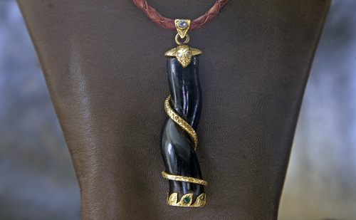 Necklaces the divine tribe nyc black coral snakeg mozeypictures Images