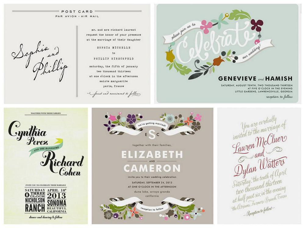 A selection of designs that can be found on Minted.