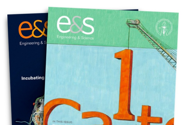 A quarterly subscription to Caltech's award-winning magazine Engineering & Science