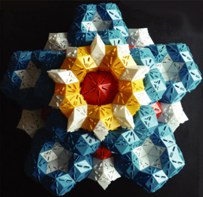 Model of a quasicrystal.