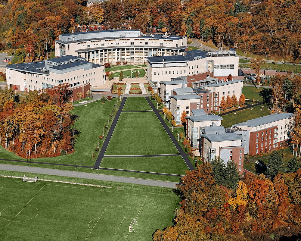 Olin College's campus in Needham, MA.
