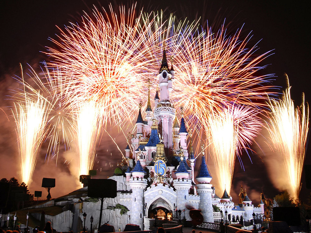 Many of today's modern fireworks, such as those used at Disneyland, are designed to be more ecologically friendly, incorporating work developed by Chavez.