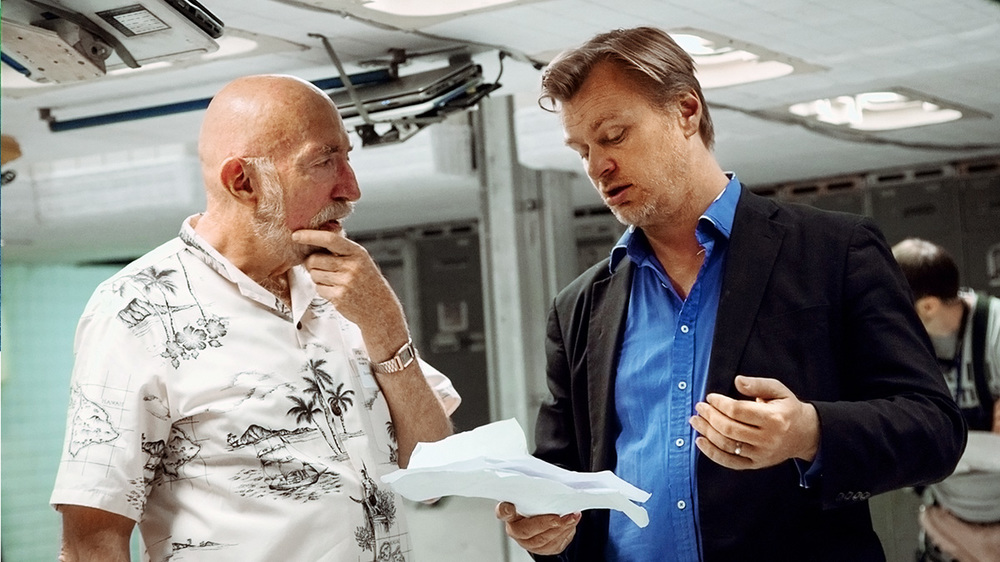 "Thorne on the set of Interstellar with director Christopher Nolan. Thorne executive-produced the project with Lynda Obst, and is now at work on a second feature. ""I can thank Caltech for my second career in Hollywood,"" Thorne said."