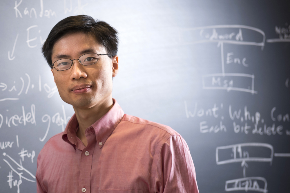 Po-Shen Loh (BS '04) has led the U.S. Mathematics Olympiad Team since 2014.  Image courtesy of Carnegie Mellon University.