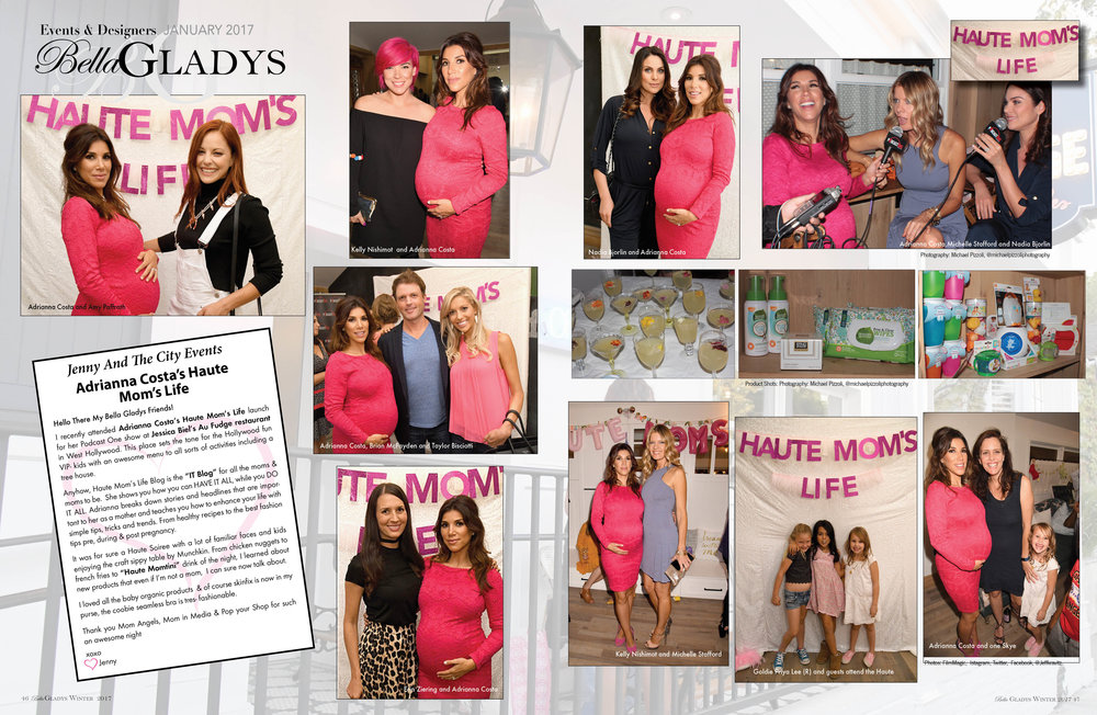 Had so much fun celebrating the launch of Adrianna Costa's new #HauteMomsLife podcast on PodcastOne at Au Fudge with Pop Your Shop, MomAngeles and Moms in Media - October 2016