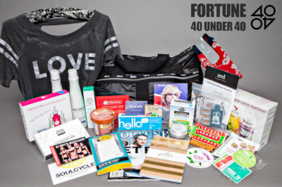 Fortune Magazine's - 40 Under 40 Gift Bag