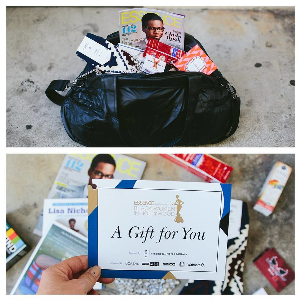 Essence Magazine's Black Women in Hollywood - Gift Bags during Oscar Week